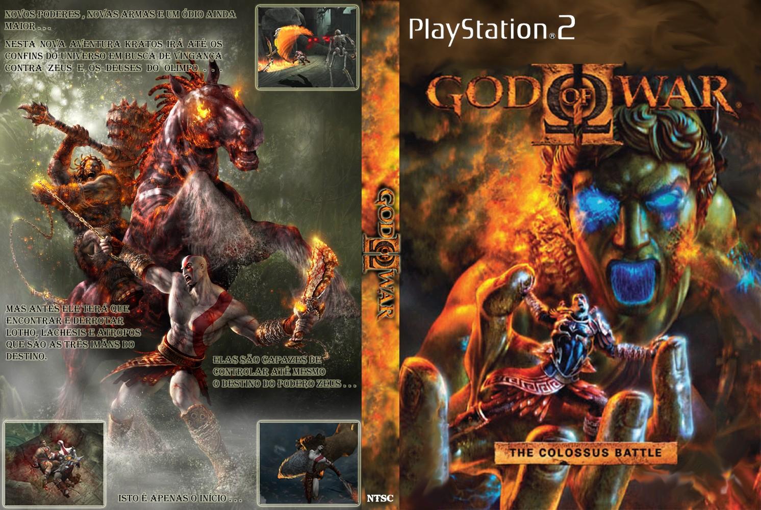 god of war 2 ps2 iso مضغوطة